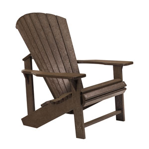 Generations Adirondack Chair-Chocolate