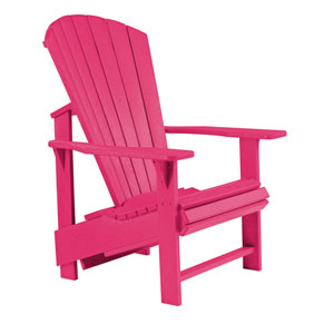 Generations Upright Adirondack Chair-Fuschia