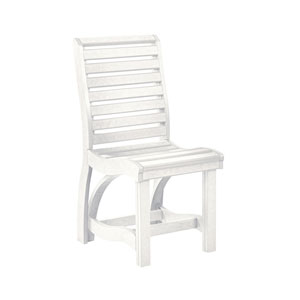 St Tropez Dining Side Chair-White
