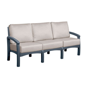 Bay Breeze Spotlight Ash Sofa with Cushions