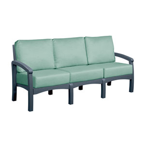 Bay Breeze Spa Sofa with Cushions