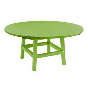 Generation Kiwi Green 40-Inch Round Table Top with 17-Inch Cocktail Table Legs