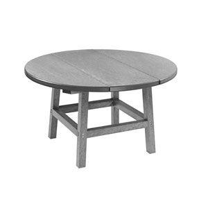 Generation Slate Grey 40-Inch Round Table Top with 17-Inch Cocktail Table Legs