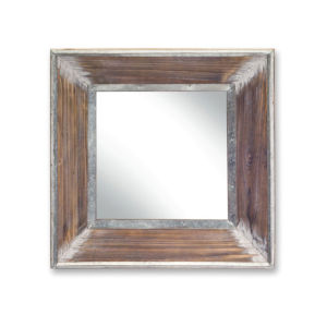 Brown Three-Inch Mirror