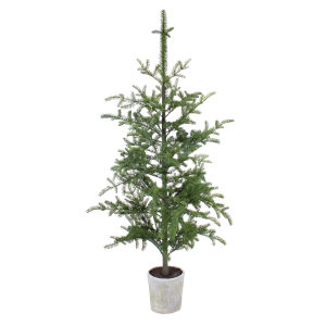 Green and Brown 6 Ft. Potted Pine Tree