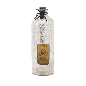 Silver and Brown Halloween Bottle