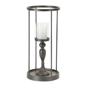 Brown and Black 29-Inch Candle Holder