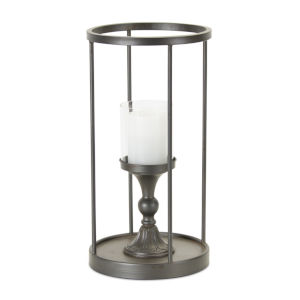 Brown and Black 18-Inch Candle Holder
