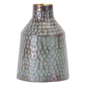 Green and Gold Vase, Set of 2