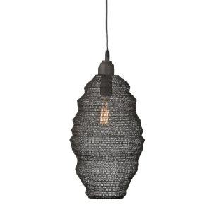 Black and Grey Hanging Lamp