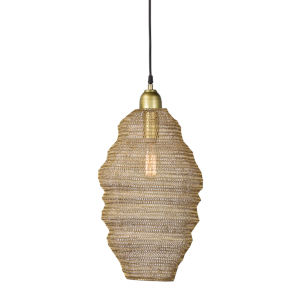 Gold 10-Inch One-Light Pendant