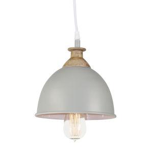 Grey and White Mini Hanging Lamp