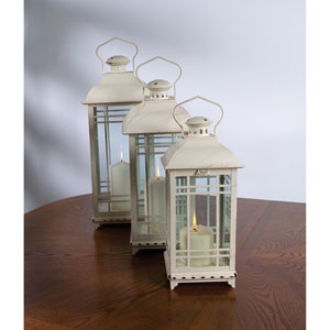 White Lantern, Set of Three