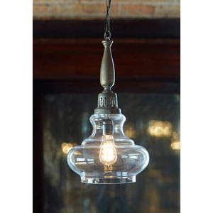 Gray Pendant Light Fixture