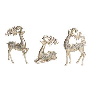 Tiffany Deer, Set of Three