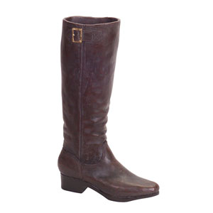 Dark and Brown Boot