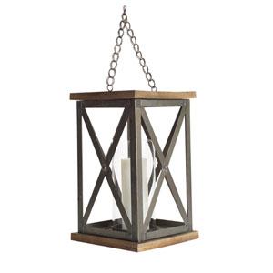 Gray Hanging Lantern