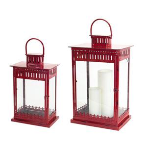 Red Lanterns, Set of Two