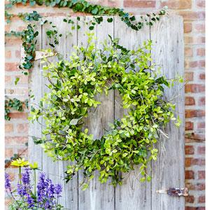 Oversized Mixed Foliage Wreath
