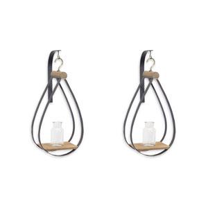 Hanging Bottle Vase, Set of Two