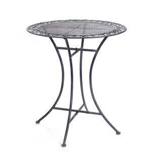 Gray Bistro Table