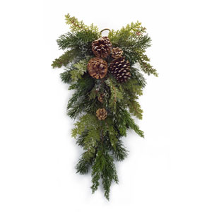 Mixed Pine Swag, Set of Four