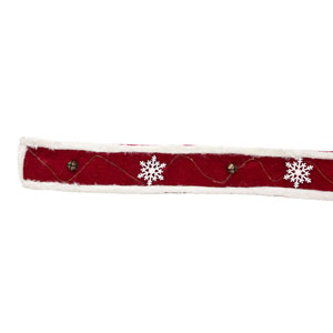 Bell and Snowflake Ribbon, Set of Six Rolls