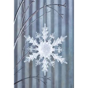Snowflake Ornament, Set of Four