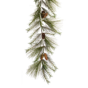 Pine and Cone Garland, Set of Two