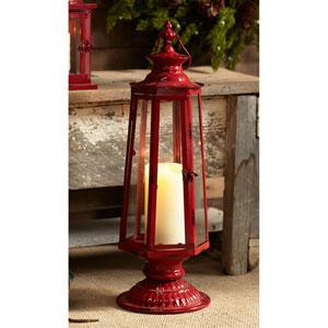 Red Tall Lantern