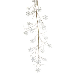 Snowflake and Twig Garland, Set of Two