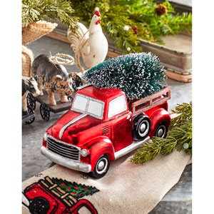 Truck with Tree, Set of Four