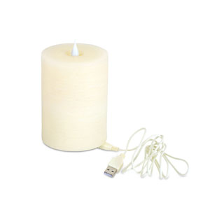 Simplux LED Rechargeable Bluetooth Speaker Candle
