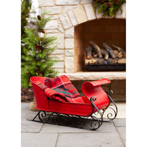 Large Red Sleigh