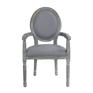 Grey Captains Chair, Set of 2