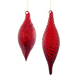 Red Kismet Ornament, Set of 12