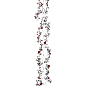 Pine and Bell Garland, Set of 12