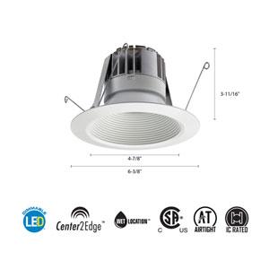 5BPMW LED M6 5-Inch White LED Recessed Baffle Module 3000K