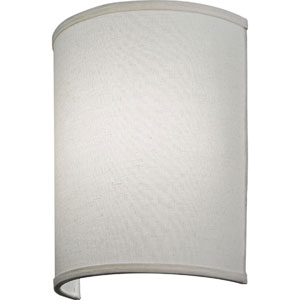 FMABSL 11 7840 F21 M4 Aberdale 11 in. LED Tan Linen Wall Sconce 4000K