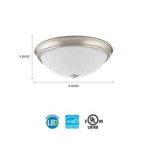 FMDECL 10 14840 BN M4 Essentials 10 in. Brushed Nickel LED Decor Round Flush Mount 4000K