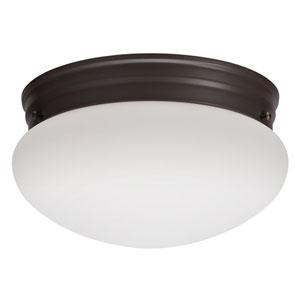 FMMUSL 9 14840 BZ M4 Essentials 9 in. Bronze LED Mushroom Flush Mount with Shade 4000K