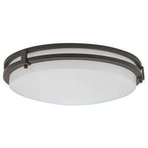 FMSATL 16 20830 BZA M4 Antique Bronze LED Saturn Flush Mount