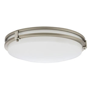 FMSATL 16 20840 BN M4 Antique Brushed Nickel LED Saturn Flush Mount