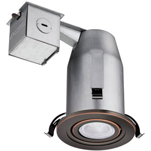 LK3GORB LED LPI M6 3-Inch Gimbal Kit with LED Lamp Included in Bronze