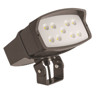 OFL2 LED P2 50K MVOLT YK DDBXD M2 LED Size 2 Flood Light Yoke Mount