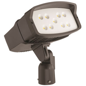 OFL2 LED P2 40K 347 IS DDBXD M2 LED Size 2 Flood Light Slipfitter Mount
