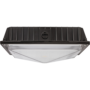 46 Watt Bronze LED Canopy Flush Mount, 5000K Day Bright