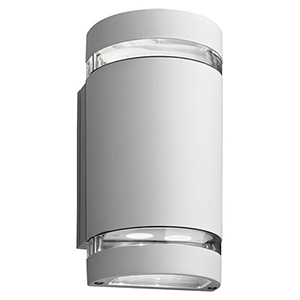OLLWU LED P1 40K MVOLT WH M6 White LED Outdoor Cylinder Up and Down Light, MVOLT 4000K, 9W
