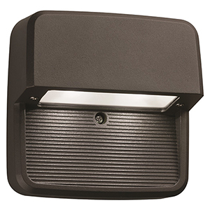 OLSS DDB M6 Outdoor LED Step Light Square, Black Bronze, MVOLT