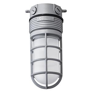 LED Glass Vapor Tight Ceiling Mount, 15W